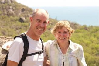 Rosemary Nixon and Steve Ashton