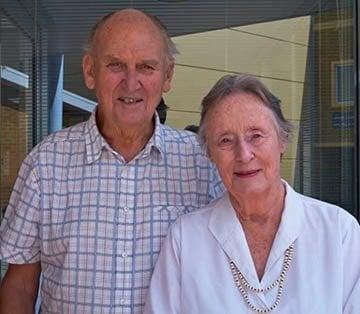 Alan and Barbara Bagnall